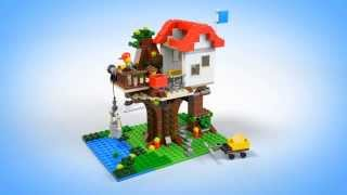 Lego Creator | Buildings | 31010 | Treehouse | Lego 3d Review