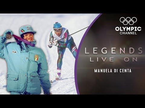 Manuela Di Centa: An Italian Ski-Legend claims 5 medals in Lillehammer | Legends Live on