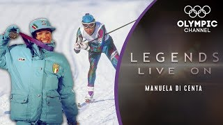 Manuela Di Centa: An Italian Ski-Legend claims 5 medals in Lillehammer | Legends Live on