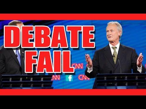 CNN Democratic Debate October 13th Loser