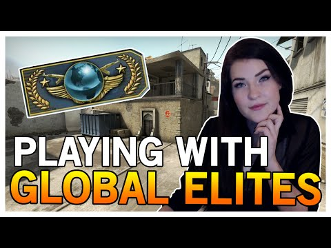 PLAYING WITH GLOBAL ELITES?! (CS:GO Gameplay)