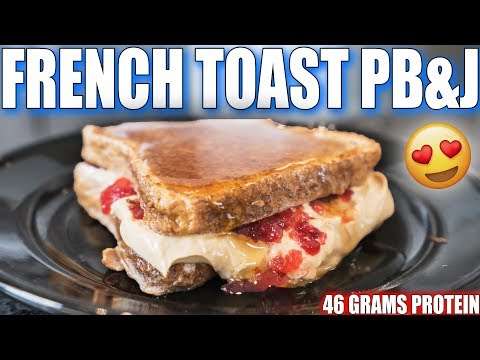 ANABOLIC FRENCH TOAST PB&J | High Protein Breakfast Recipe
