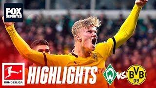 Werder Bremen 0-2 Borussia Dortmund | HIGHLIGHTS | Jornada 23 | Bundesliga