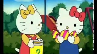 Hello Kitty en français magiques aniverssaire couleurs magique les enfants adorent