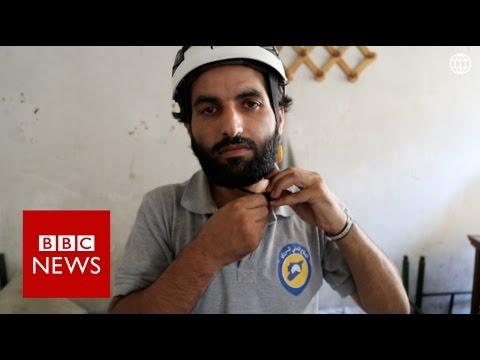 Aleppo's White Helmets: Life Under Siege - BBC News