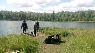 природа дайвинг рыбалка пикник на озере быковское