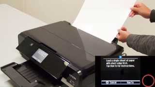 How to Print Using Rear Paper Feed (Epson XP-720,XP-820,XP-860,XP-710,XP-810,XP-950) NPD5209