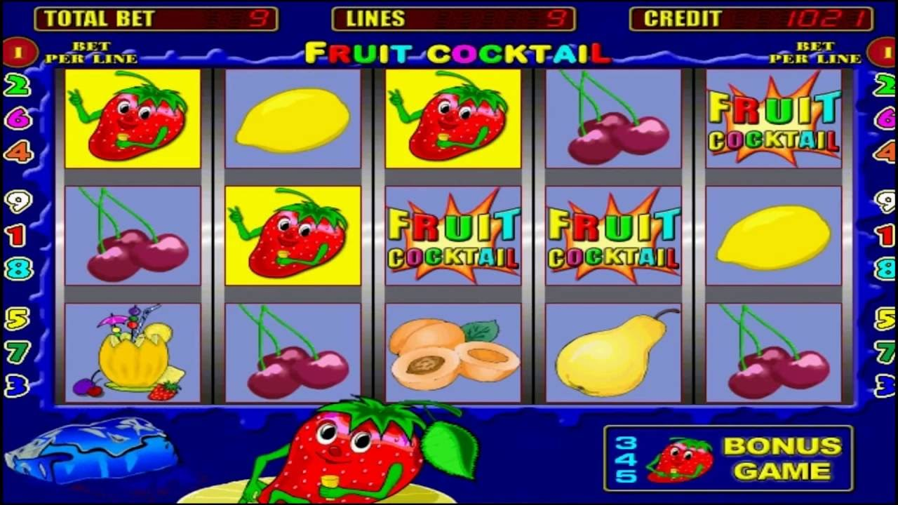 Slots fruit cocktail free cartable fille a roulette little marcel