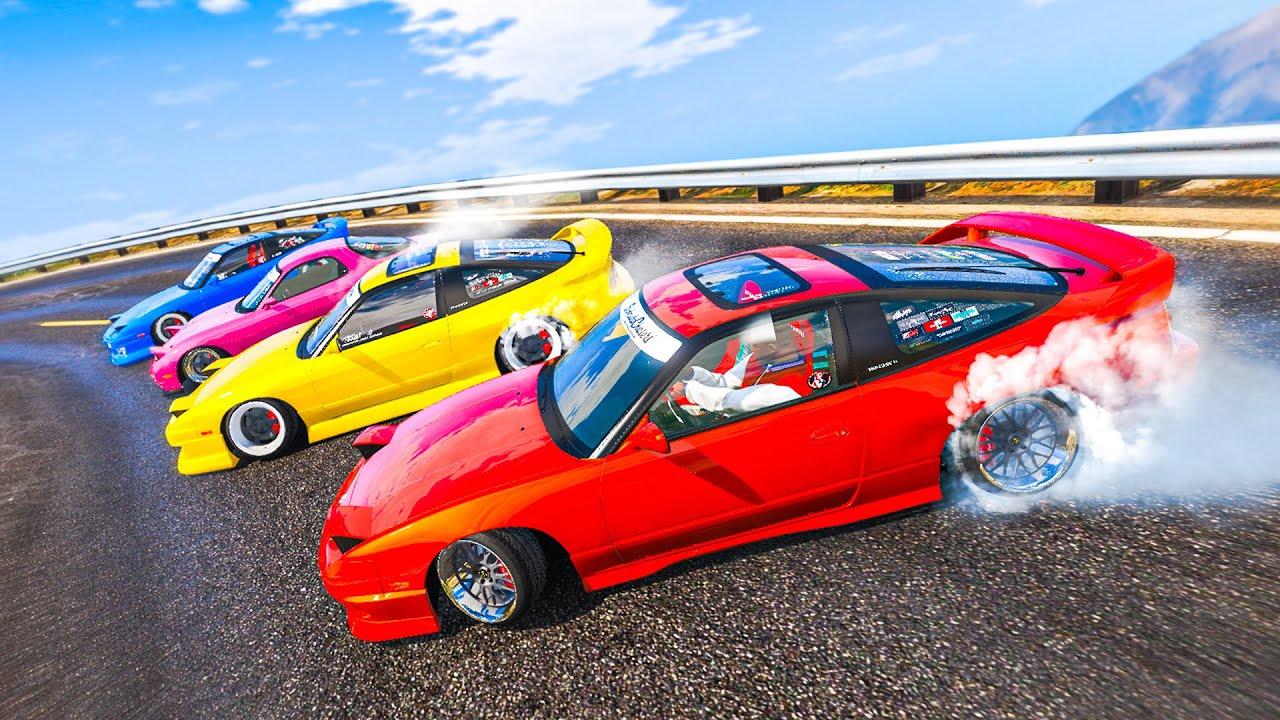 CRAZIEST GTA 5 ONLINE DRIFTING! (FiveM)