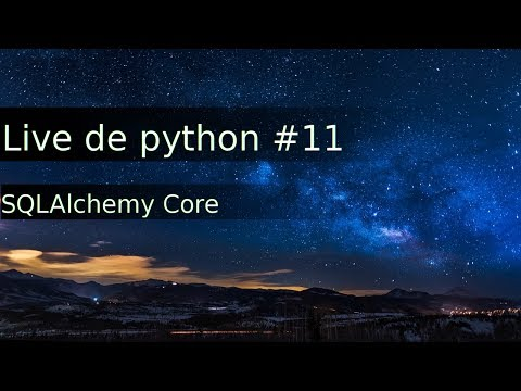 Live de Python #11 - Abstraindo seu banco de dados com SQLAlchemy (core)