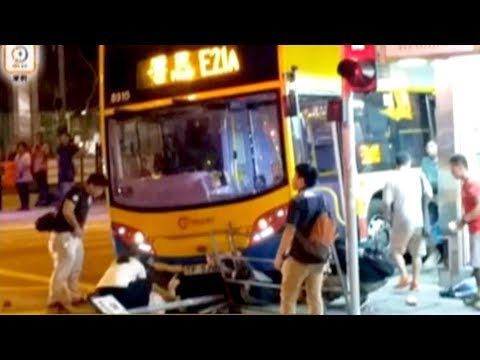 At least 3 dead, 22 injured in Hong Kong bus crash