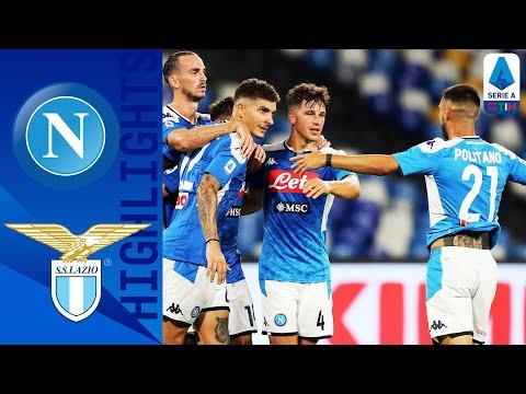 Napoli 3-1 Lazio   Immobile Goal Not Enough as Napoli Sink Lazio   Serie A TIM
