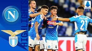 Napoli 3-1 Lazio | Immobile Goal Not Enough as Napoli Sink Lazio | Serie A TIM