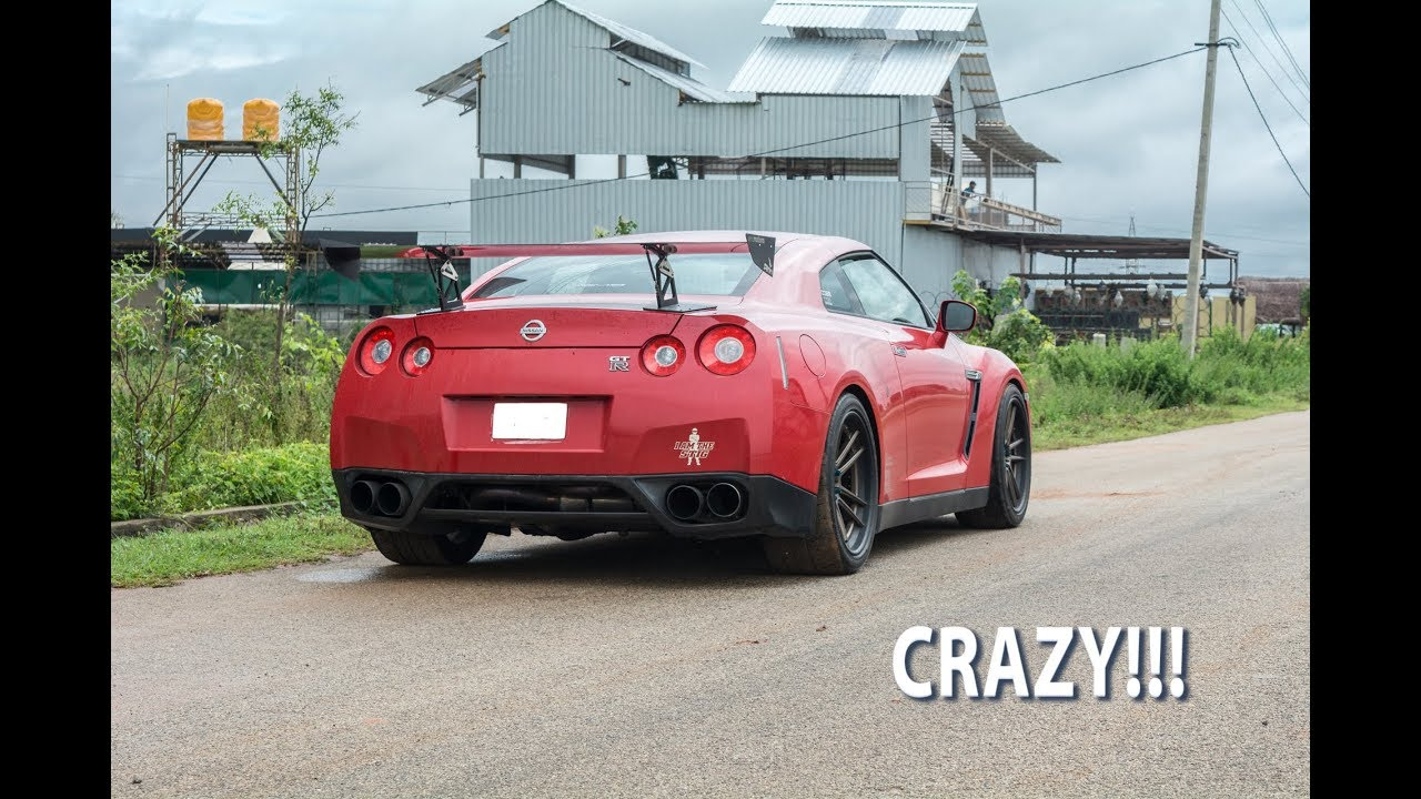 Nissan GTR with HKS Exhaust in Bangalore   R35   FLYBY   #15