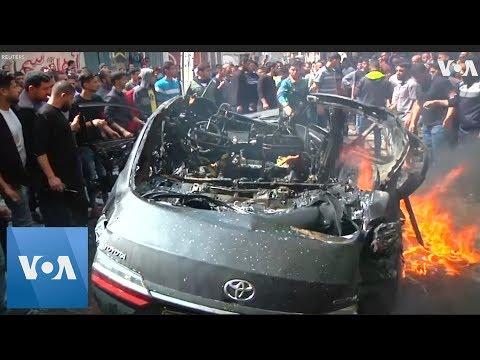 Israel Airstrike Hits Vehicle Of Hamas Commander