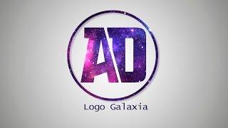 Curso de logos en Photoshop | Logo galaxia | Aprende Diseño Gratis