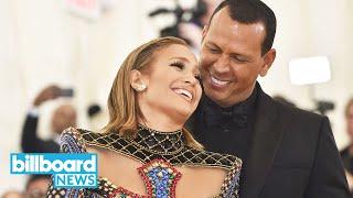 Jennifer Lopez and Alex Rodriguez Get Engaged, Fans React | Billboard News