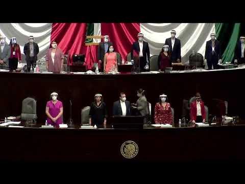 EN VIVO / Primera sesión extraordinaria del segundo receso del segundo año de la LXIV Legislatura