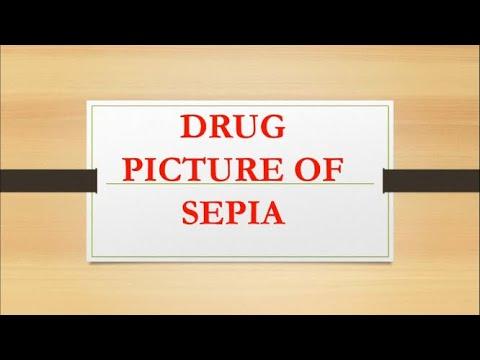 SEPIA Complete Drug Picture