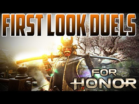 [For Honor] KENSEI REWORK First Look Duels