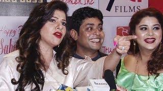 Sambhavna Seth gets ANGRY on Reporter