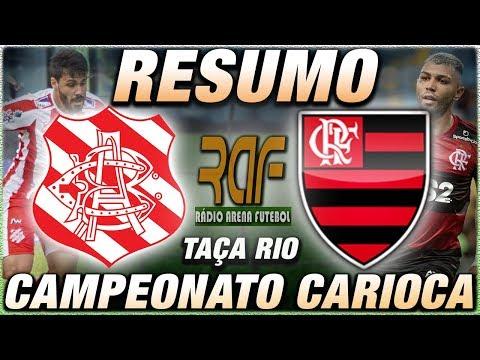 Bangu x Flamengo Ao Vivo - Campeonato Carioca - Narração
