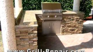 Custom Outdoor Kitchen Pictures With Solaire Infrared Built In Gas Bbq Grills