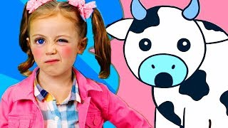 Wrong Moo Cow! | That's the Wrong Sound! | Learn Animal Sounds