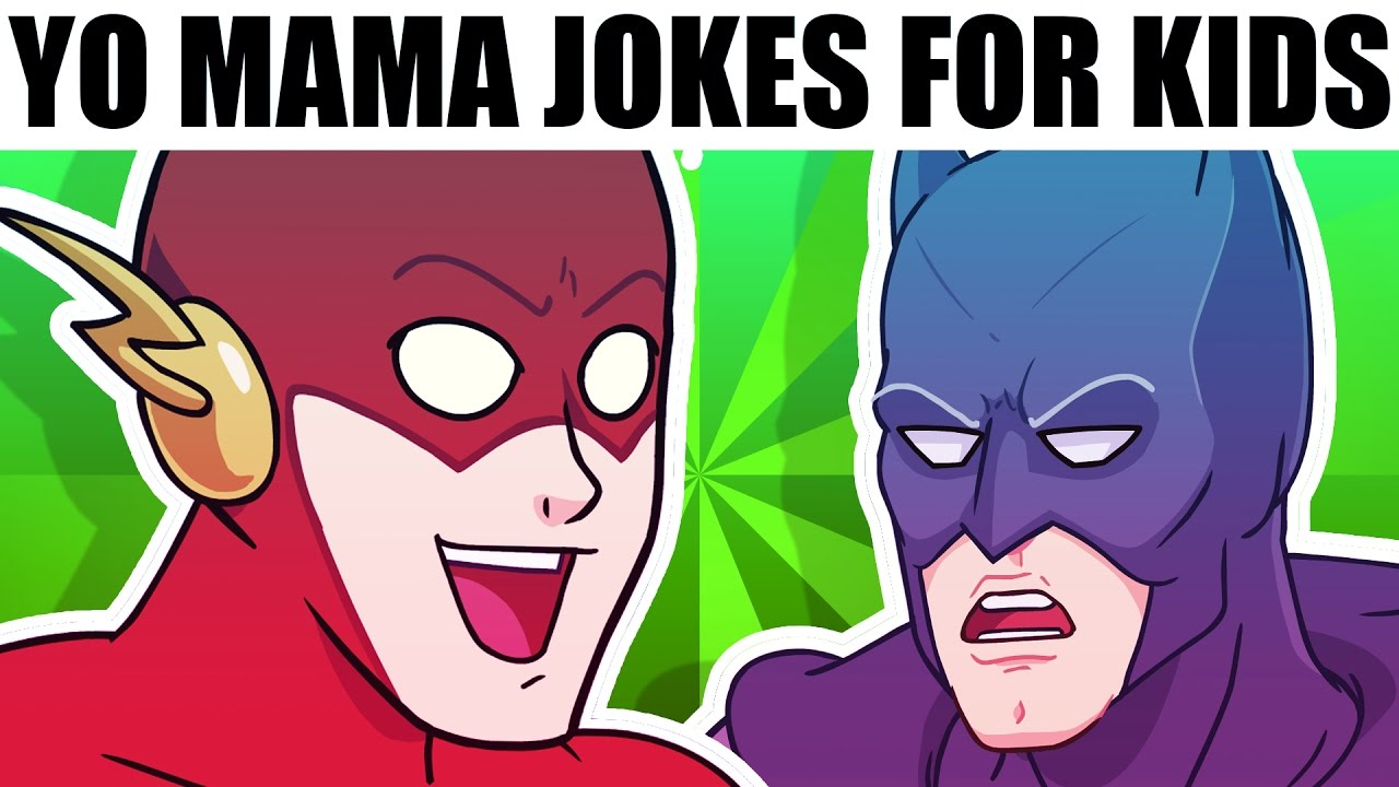 Yo Mama For Kids Super Heroes Ft Superman Batman And The Flash cartoon Youtube Yo Mama For Kids Super Heroes Ft Superman Batman And The Flash