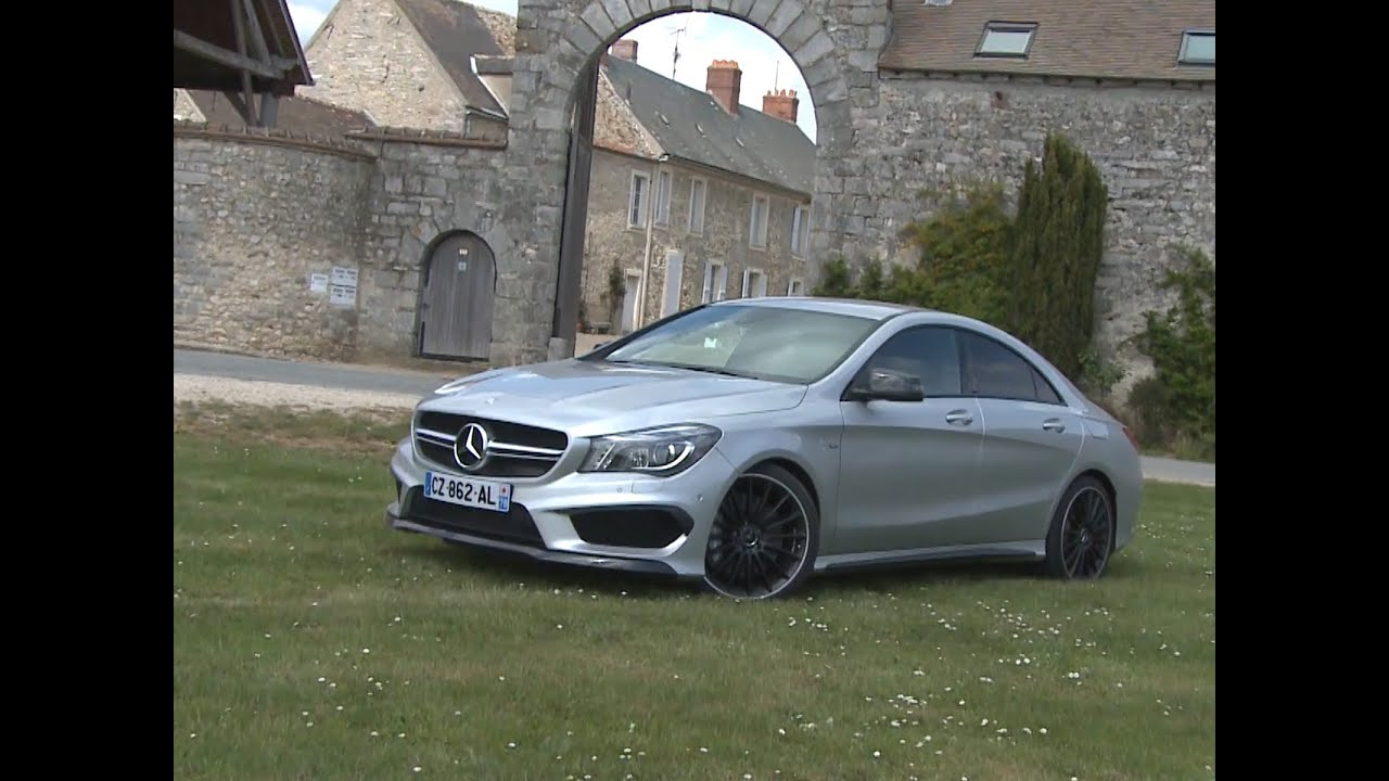 essai mercedes cla 45 amg 2014 youtube. Black Bedroom Furniture Sets. Home Design Ideas