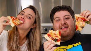 The Best Homemade Pizza Recipe | Lele Pons & Nick Antonyan