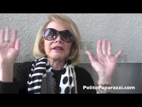 One Of Joan Rivers' Last Interviews!  On Palestine & Her Health!!  CRAZY - FULL VIDEO -  Jul30, 2014