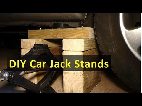 DIY car jack stands