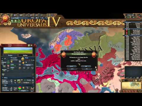 Let's Play Europa Universalis IV 21 (Watching The Wars On Our Frontier, Bankrolling,  Embargos)