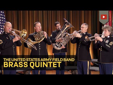 The Star-Spangled Banner- Army Field Band Brass Quintet