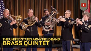 The Star Spangled Banner Army Field Band Brass Quintet