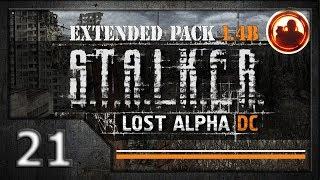 СТАЛКЕР Lost Alpha DC Extended pack 1.4b. Прохождение 21. Лаборатория Х10 под Радаром.
