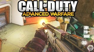 cod advanced warfare multiplayer gameplay asm1 smg class loadout call of duty aw