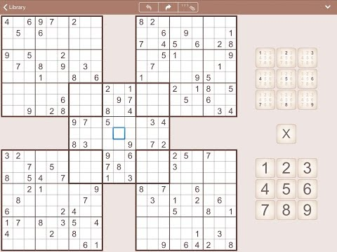 MultiSudoku For IPhone, IPad And Android