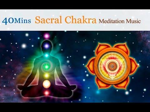 ★40mins★Tibetan Singing Bowls Meditation Music for Chakra Healing: Sacral Chakra (for Creativity)