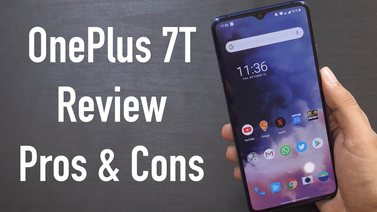 OnePlus 7T First Look with Pros and Cons