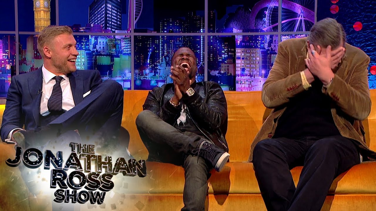 Download Kevin Hart Can't Deal With Freddie Flintoff's Ghost Stories | The Jonathan Ross Show
