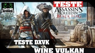 Assassins Creed Black Flag DXVK // Wine 3.5 Staging via Lutris