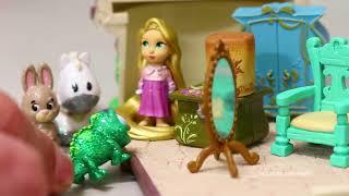 album frozen y rompecabezas con premios jugando muecas y juguetes con andre para nias y nios