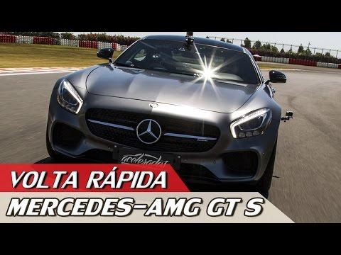 MERCEDES-AMG GT S – VOLTA RÁPIDA COM RUBENS BARRICHELLO #83 | ACELERADOS