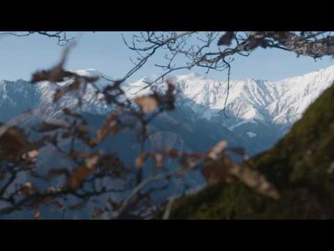 Mountains in Azerbaijan near Sheki