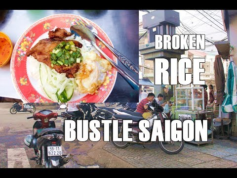 [SAIGON STREET FOOD] COM TAM - Vietnamese Broken Rice with Grilled Pork