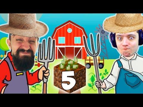 ОГРАБИЛИ ДЕРЕВНЮ | Два Веселых Фермера #5 | Майнкрафт с модами