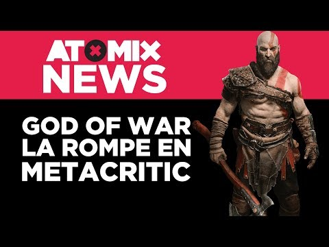 God of War la rompe en Metacritic – #AtomixNews [16/04/18]