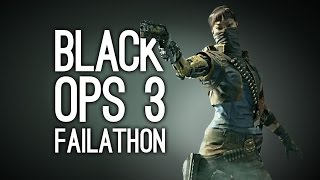 FAILATHON in CoD Black Ops 3 - Andy and Jane at Gamescom 2015 Black Ops 3 Multiplayer Gameplay